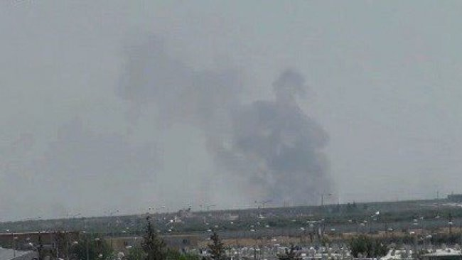 Topxaneya Tirkiyê pêgehên YPGê li Şehba topbaran kir