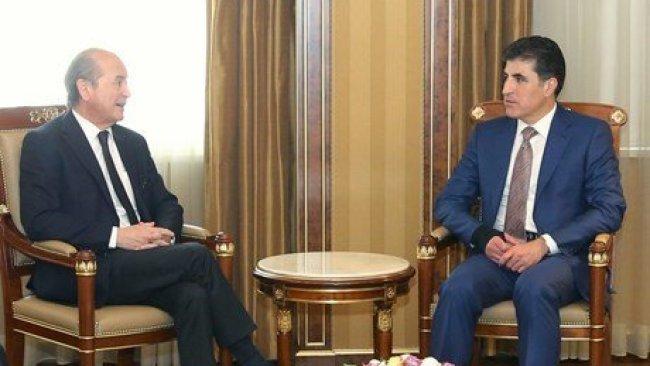 Şanda Fransayê silava Macron gihande Serokê Herêma Kurdistanê