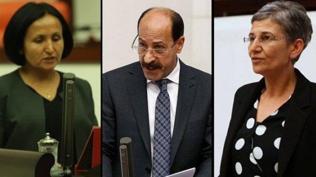 Dadgeha Bilind a Tirkiyê cezayê 3 parlamenterên HDPê pejirand!
