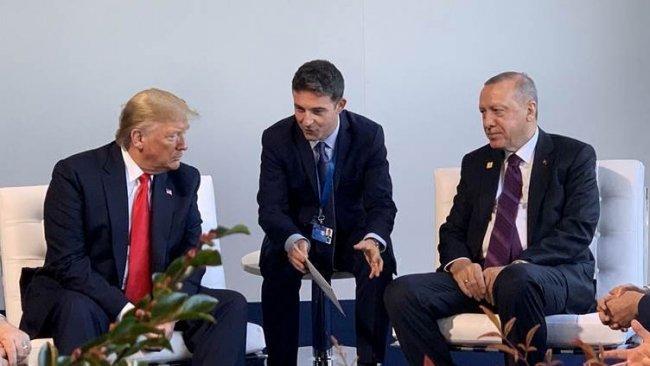 Trump derbarê civîna li gel Erdogan: Me behsa Kurdan kir