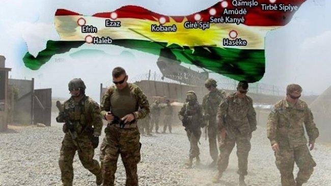 Hêzên Amerîkî soz dan xelkê Rojava