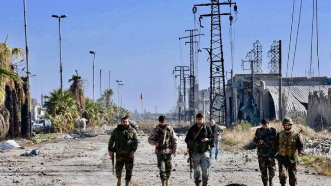 Li Helebê şer di navbera grûpên çekdar û artêşa Sûriyê de derket