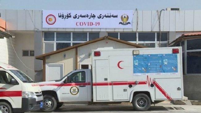 Li Kurdistan'ê 10 kes bi koronayê ketin