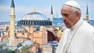 Papa: Ez ji ber biryara Ayasofyayê gelek diêşim