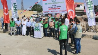 Tirkiyê li Efrînê mizgeftan çêdike!