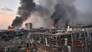 Sedema teqînên li Beyrutê diyar bû