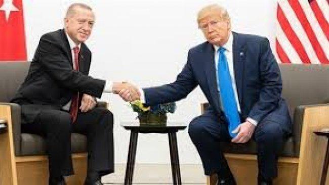 Trump û Erdogan pêşhateyên li Deryaya Spî gotûbêj kirin