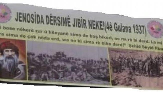 Destpêka Jenosîda Dêrsimê 4ê Gulana 1937ê ye