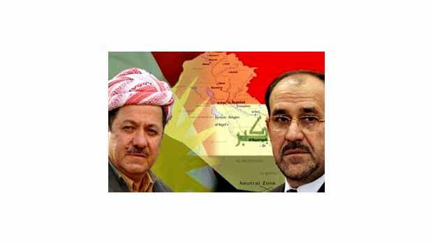 Barzani'den Maliki'ye Kürdistan resti!