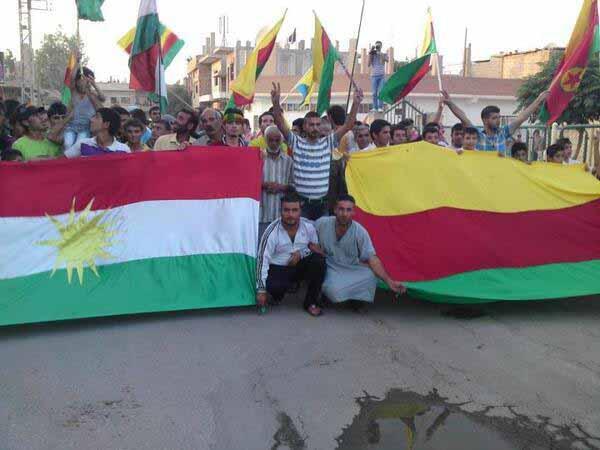 Kürdistan Federasyonu ve Rojava Kürdistan'ı bizim