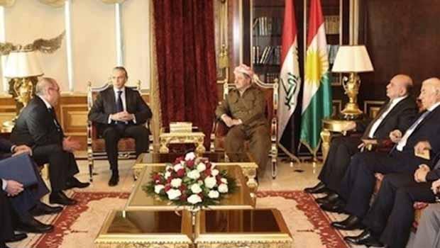 Barzani: Ülkemiz bir güç ve enerji bölgesi oldu