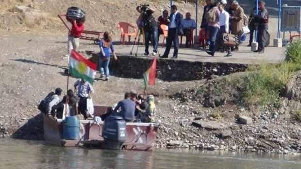 20 bin göçmen Güney'den Rojava'ya döndü