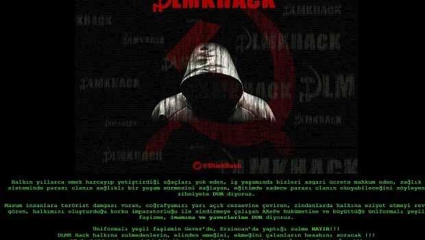 Fethullah Gülen'in herkül.org sitesi hack'lendi
