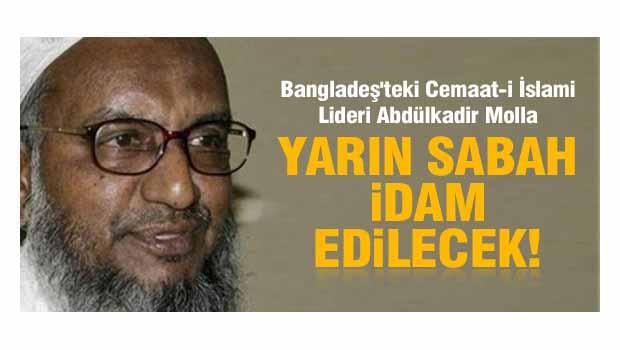 Abdülkadir Molla'nın idamı ertelendi