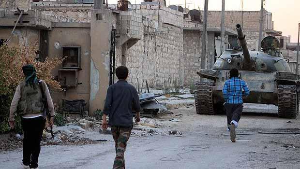Suriye'deki iç savaşın bininci günü