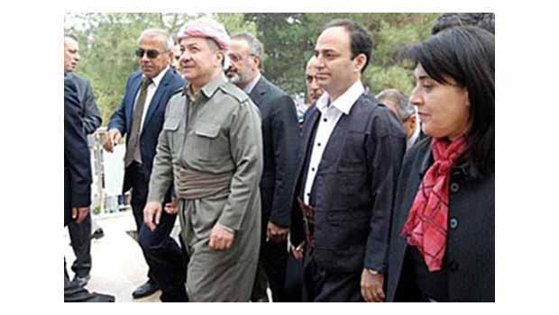 Görüşmeler olumlu, Barzani, Müslim'le görüşüyor...