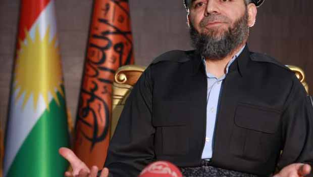 Komala İslami Kürdistan Partisi Lideri Ali Bapir'den Amed'e ziyaret..