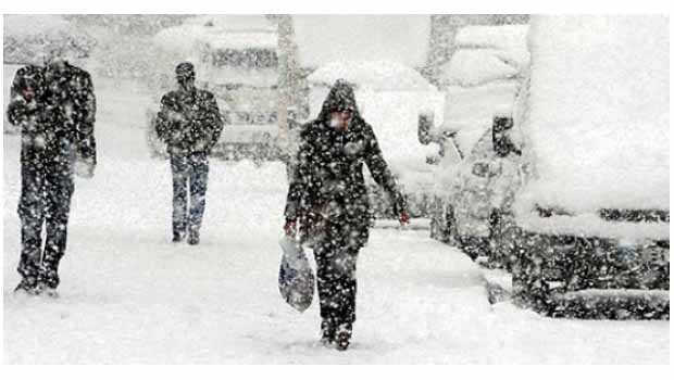 Kurdistan'ın kuzeyi kar altında...