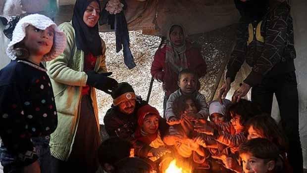 Rojava mülteciler için acil yardım bekliyor