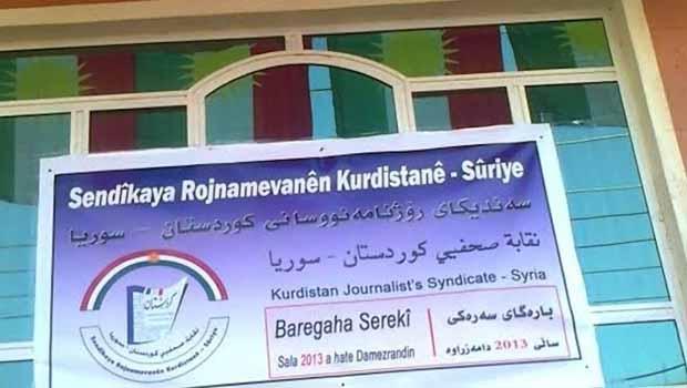 Baregahê Sendîka Rojnamevanên Kurdistan-Sûriyê hat vekirin