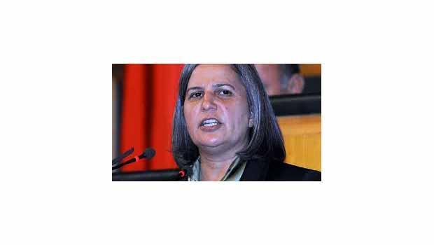 BDP Eş Genel Başkanı Gültan Kışanak Merkezi devlet
