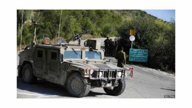 İsrail-Lübnan sınırında çatışma...!