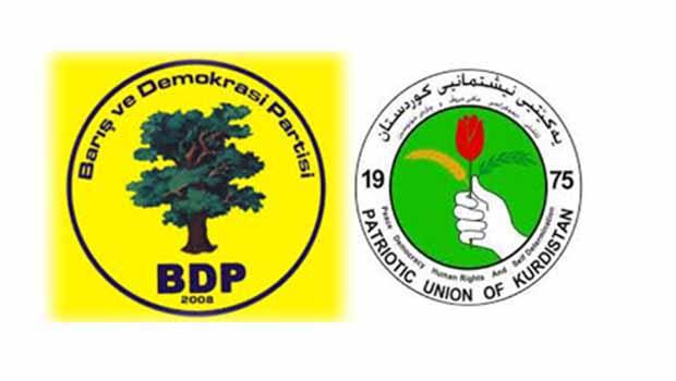 BDP, YNK'yi ziyaret ediyor