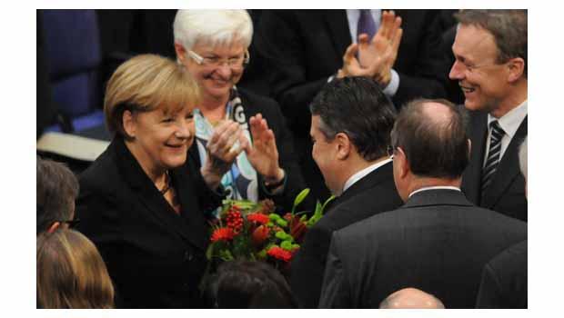 Merkel 3. kez başbakan
