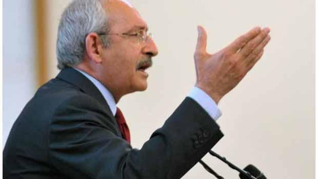Kılıçdaroğlu'ndan Başbakan'a: Çete de Sensin Reisi de Sen