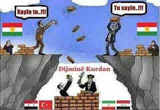 Ve Tanrı Kürd'ü Birbirlerini Kırdırsınlar Diye (mi) Yarattı