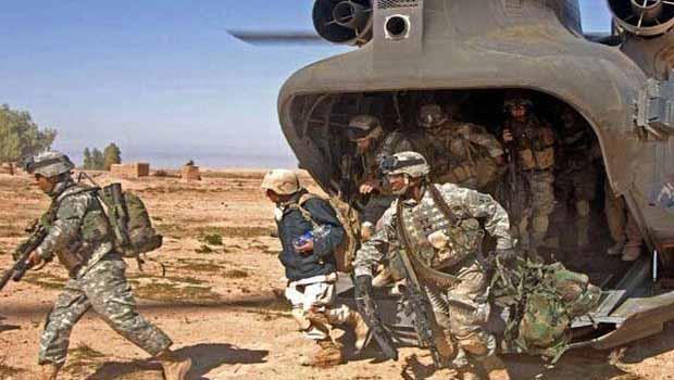ABD 100 Askerle Badat Bykeliliini Tahliye Ediyor