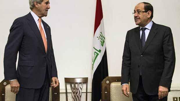 Kerry:Sünni ve Kürtler Hükümeti daha fazla temsil etsin
