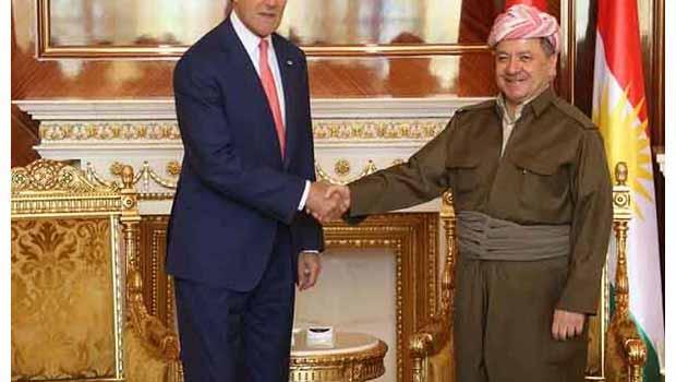 Kerry: Peşmerge ve Kürdistan Hükümetine Teşekkür etti
