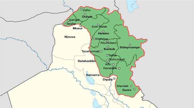 Güney Kürdistan 3. Kurtuluşu yaşıyor