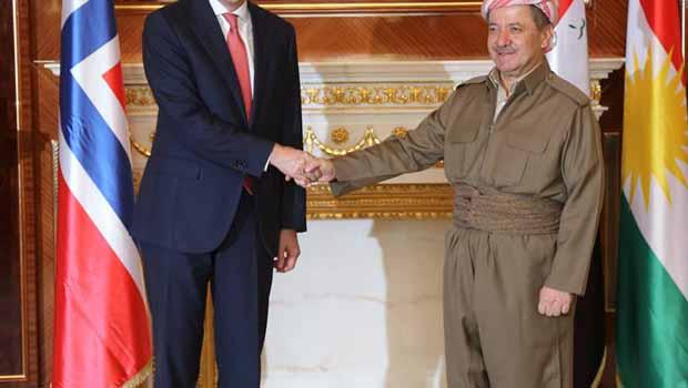 Norveç Bakanı,Kürdistan Yönetimine Her konuda Yardıma Hazırız