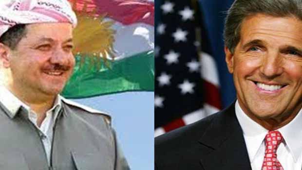 Kerry: IŞİD'e Karşı Kürdistan Bölgesi'ne desteğini Yeniledi