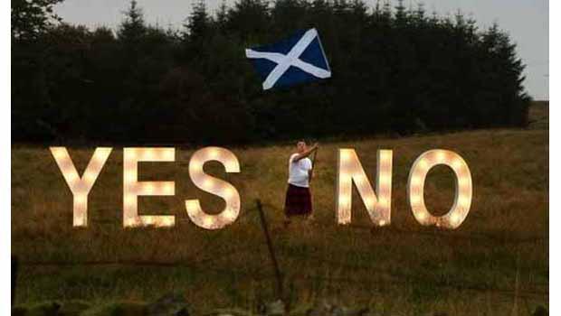 İskoçya halkı kaderini oyluyor
