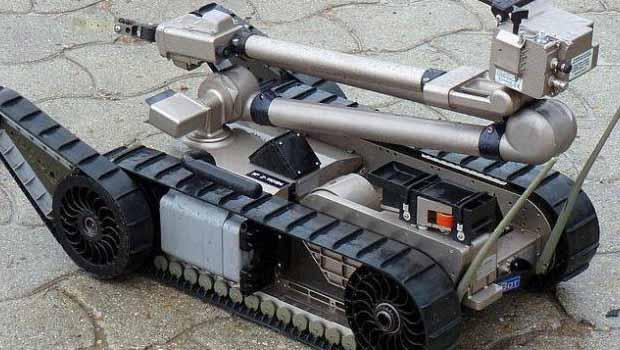 Bomba imha Robotları Peşmerge'ye ulaştı