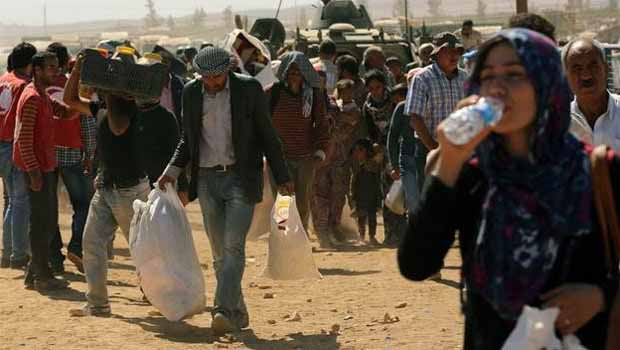 Suruç'ta fiyatlar arttı,Nedeni Kobane'den Gelenlermi?