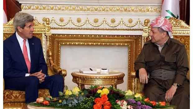 Başkan Barzani ve Kerry Telefonda Kobane'yi Görüştü