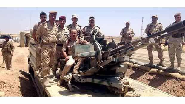 Enbar ve Zummar'da 61  IŞİD üyesi öldürüldü