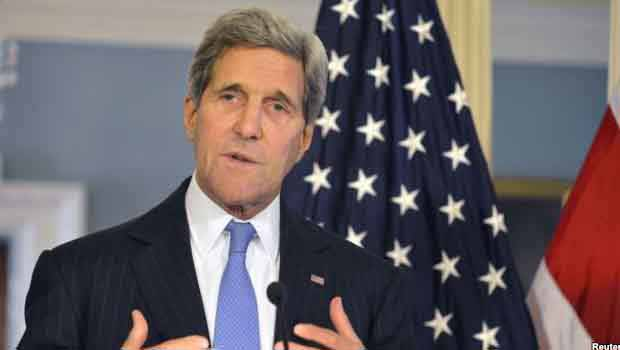 Kerry: 'Kürtler Kobani'de Türk Askeri İstemiyor