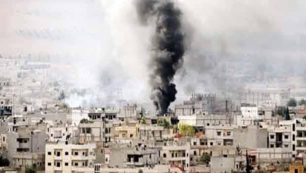 Koalisyon bombardımanında 464 IŞİD'li öldü