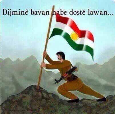 Türk-Arap ve Farslar; Kürtleri hep yalnız görmek isterler