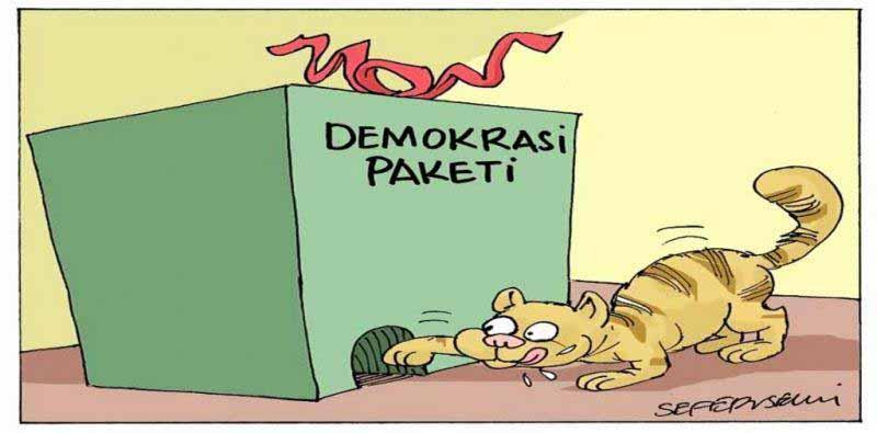 Ha bakkal Mıho'nun mantığı, ha Ankara'daki Kürt çözümünün mantığı