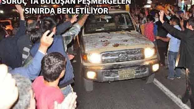 Peşmerge bugün Kobanê'ye geçecek