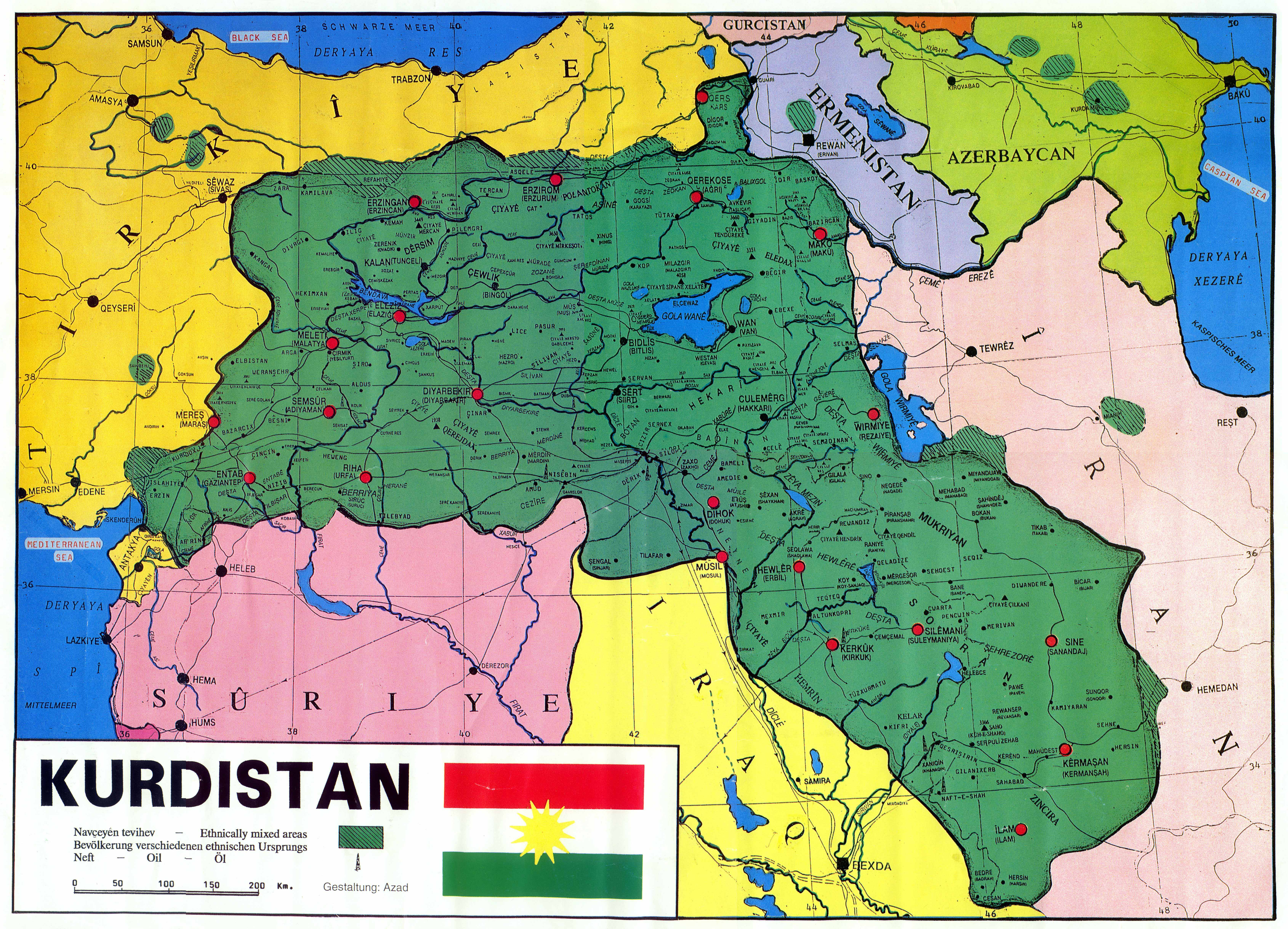 Kürtler Büyük Düşünüp Büyük Kazanmalıdır