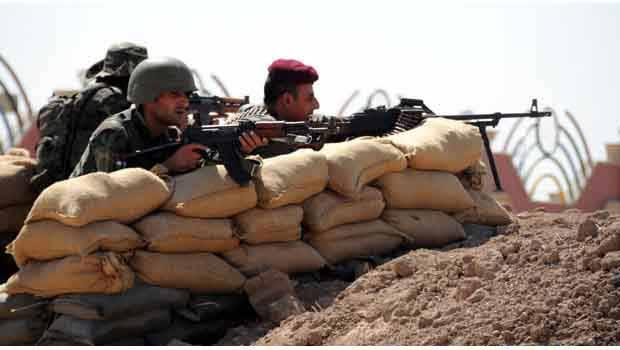 Peşmerge Güçleri IŞİD'in sızma girişimini Engelledi.