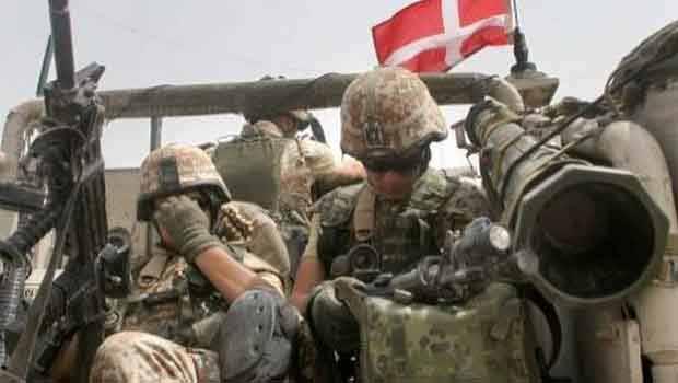Danimarka Kürdistan'a Asker Gönderdi.