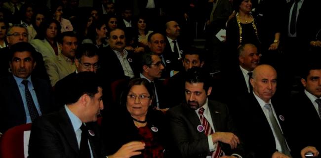 Erbil'de Yüksek Kadın Kurulu Konferansı gerçekleştiriliyor